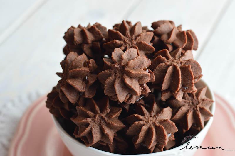 Čokoladni brizgani piškoti