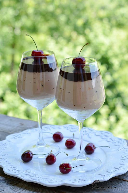Češnje v dvojni čokoladi