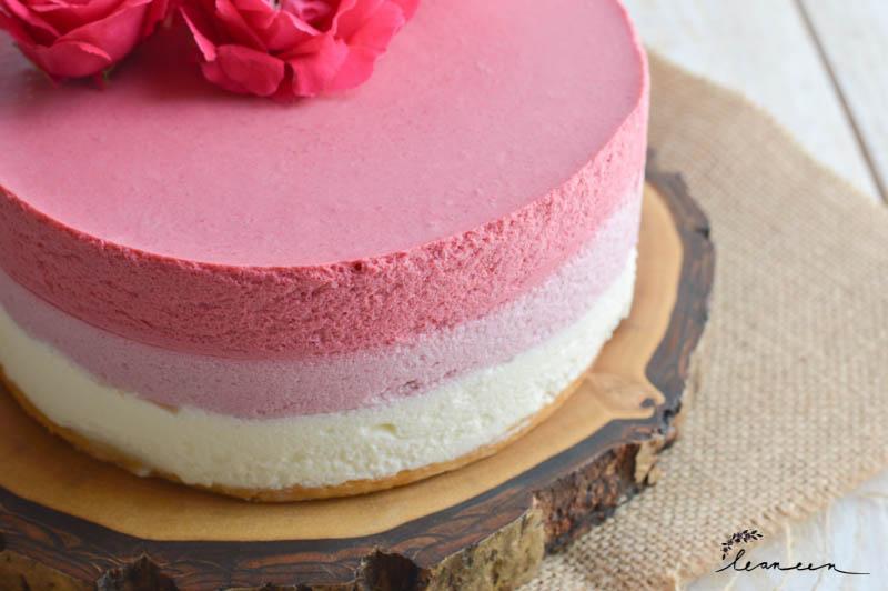 Malinova ombre torta