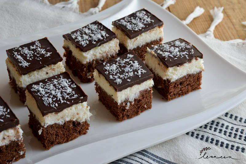 Kokosove rezine s čokolado