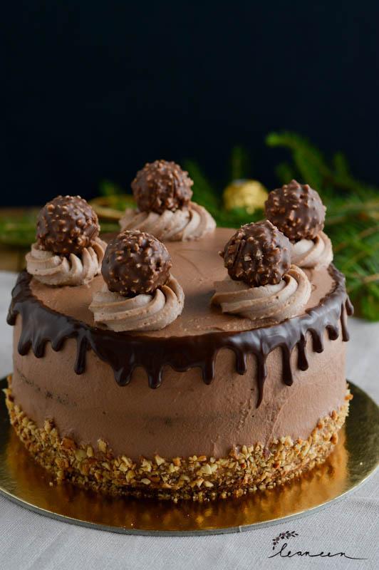 Ferrero Rocher torta