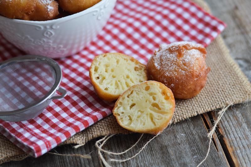 Vanilijeve miške z jabolki