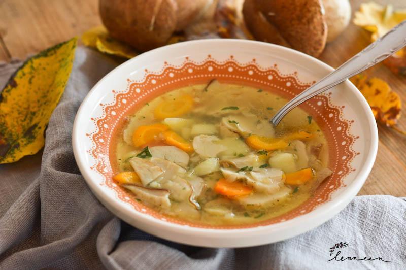 Babičina gobova juha