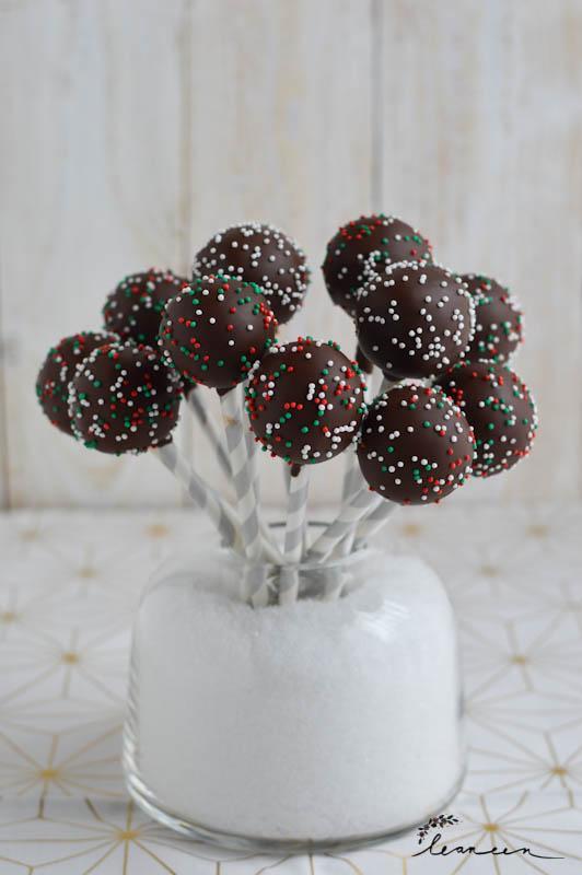 Rumkokos cake pops