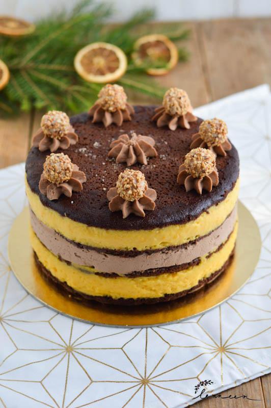 Torta čokopomaranča
