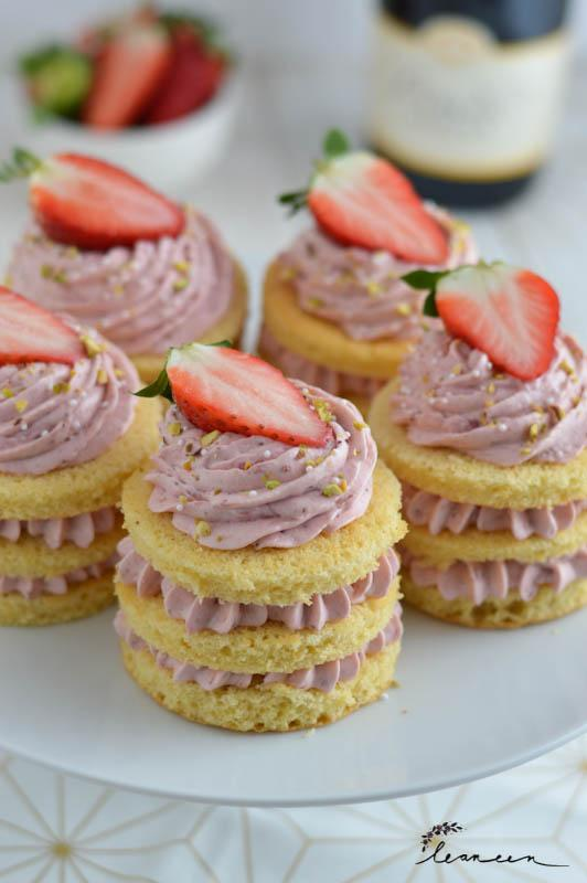 Mini jagodne tortice