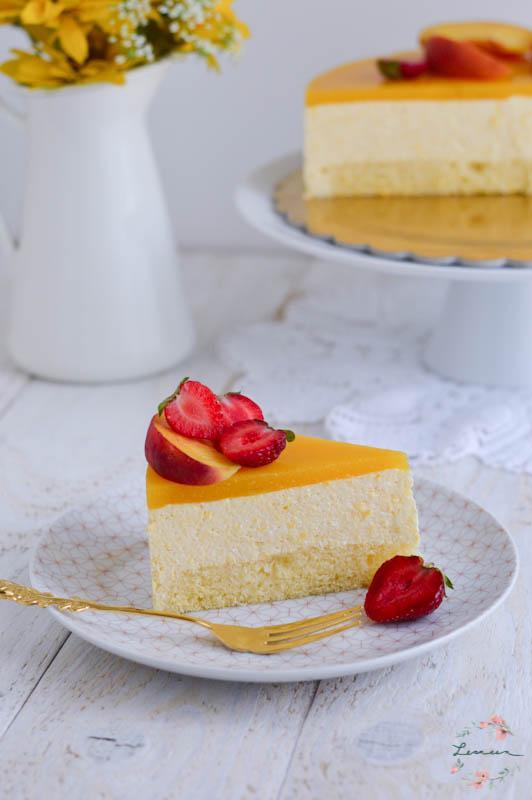 Skutna breskova torta