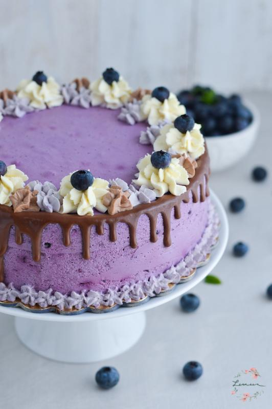 Božanska borovničeva torta