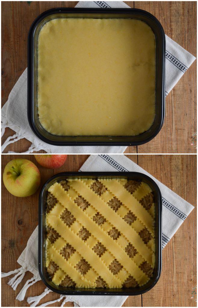 Krhke jabolčne rezine