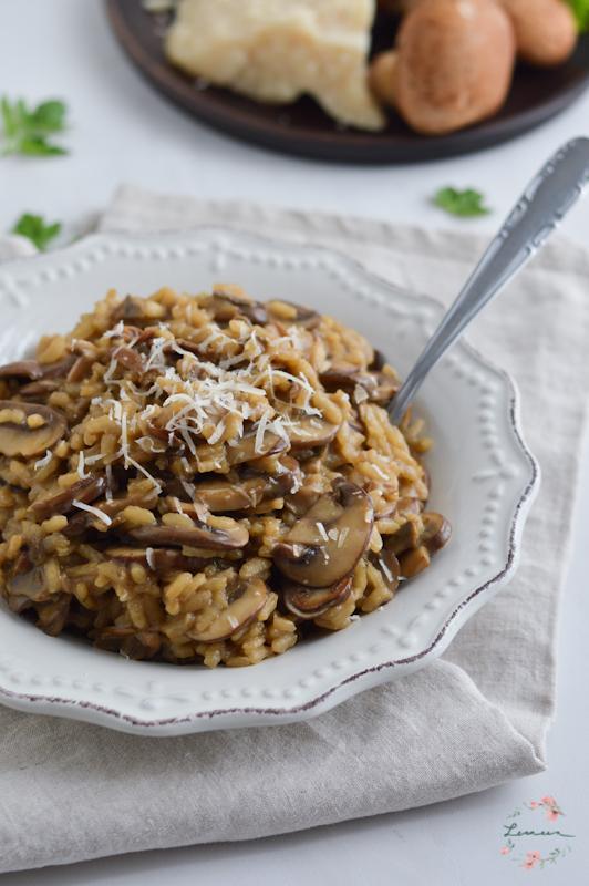 Kremasta gobova rižota s tartufi