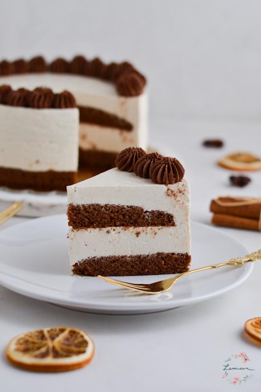 Grška torta s cimetom in pomarančo