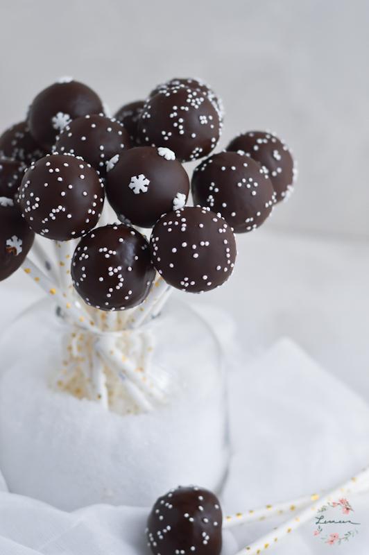 Jaffa cake popsi