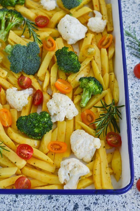 Krompir in zelenjava iz pečice