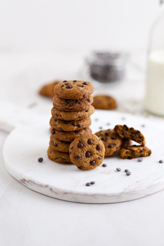 Ameriški piškoti s koščki čokolade