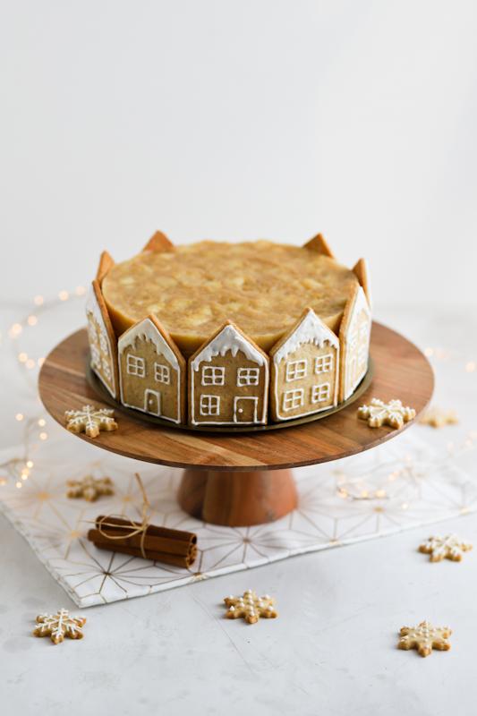 Božična karamelna torta