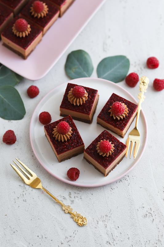 Čokoladne rezine z malinami