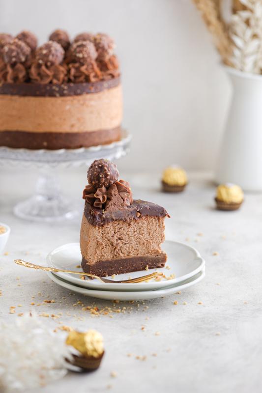 Ferrero Rocher torta brez peke