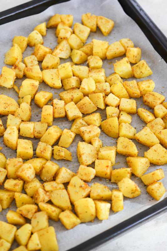 hrustljavo pečen krompirček