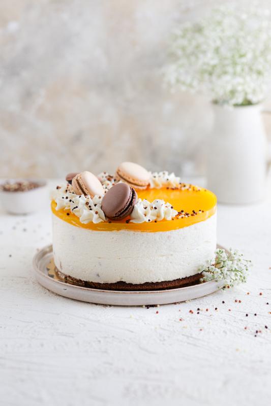 Pomarančna jogurtova torta