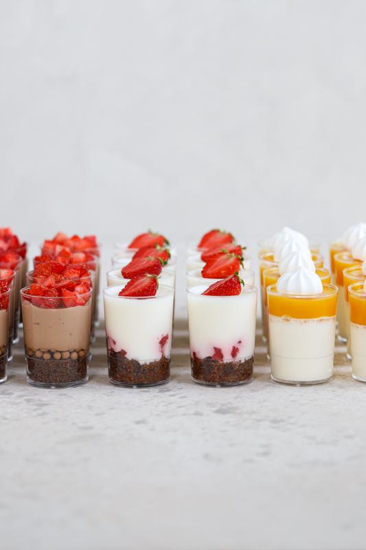 Mini sladičke v kozarcu za praznovanja