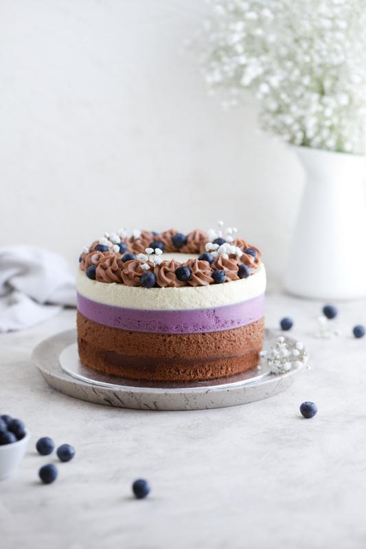 Torta Čokoladna borovnica