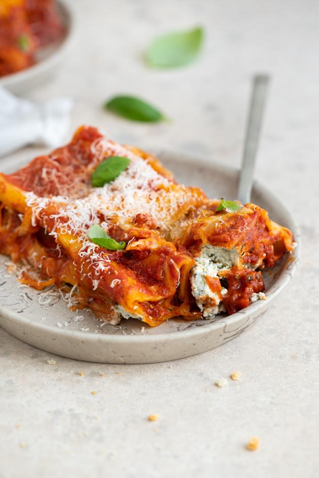 Cannelloni z ricotto in špinačo Leaneen recept
