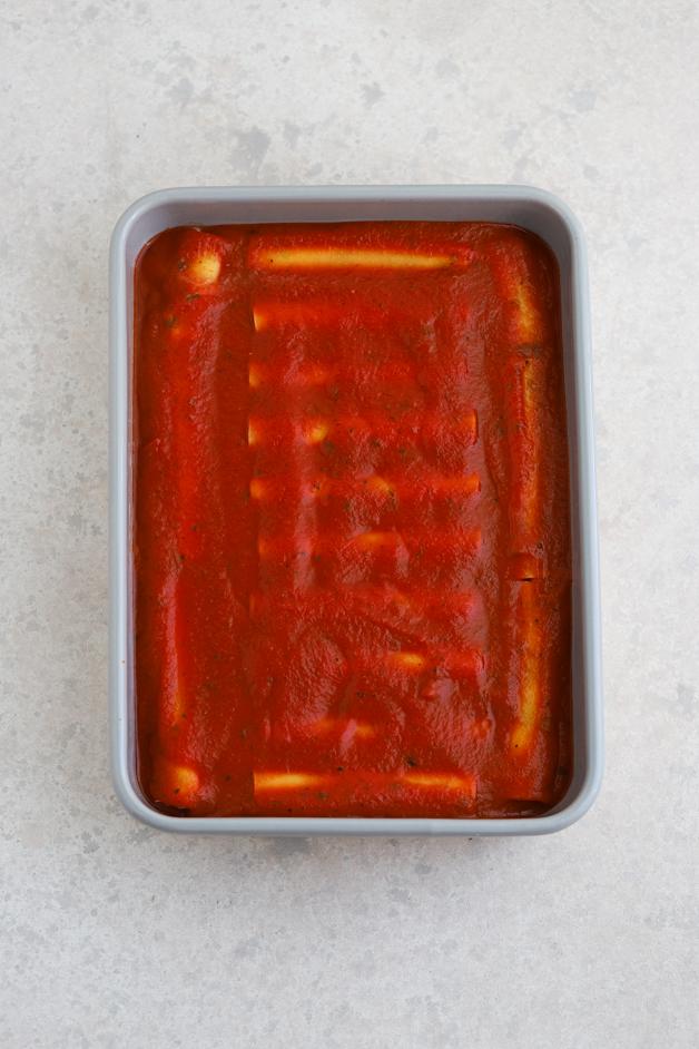 Cannelloni postopek priprave