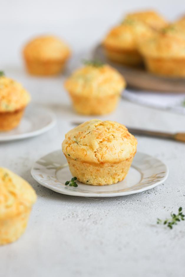 Sirovi muffini z bučkami Leaneen recept
