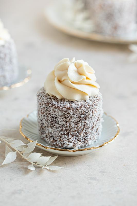 Cupcakes čupavci z malinovim polnilom Leaneen recept